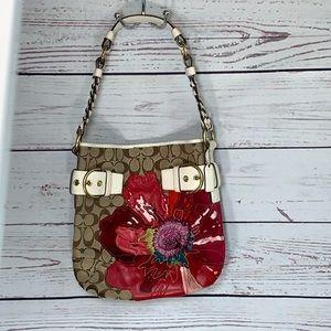 VINTAGE Rare Coach Poppy signature poppy handbag